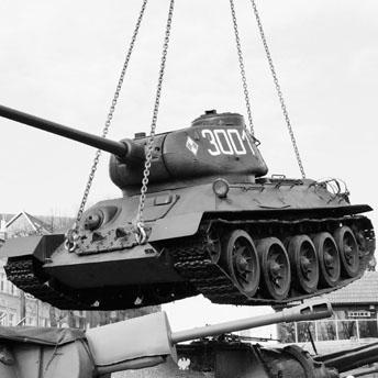 2016<br/>Remont czołgu T34-85